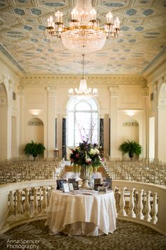 Atlanta wedding ceremony  & reception venue: The Atlanta Biltmore, Imperial Ballroom