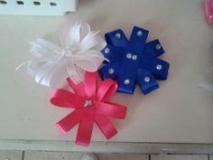 Hair bows that I made
