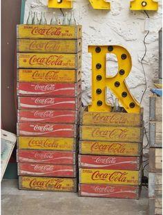 Caisse de coca-cola