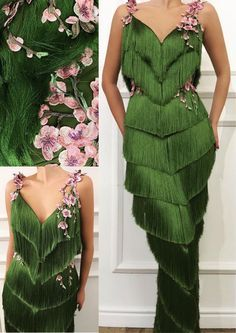 Ideas Nature Inspired Dress Beauty For 2019 Evening Dresses, Prom Dresses, Formal Dresses, Dance Dresses, Costume Fleur, Mode Style, Dream Dress, Costume Design, Pretty Dresses