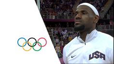 USA v Nigeria - USA Break Olympic Points Record - Men's Basketball Group...