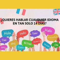 Siempre es un buen momento para hablar un nuevo idioma extranjero. Puedes comprobarlo ya en 2 semanas notarás cambios en tu vida cotidiana. Empezarás a hablar sin problemas en un idioma en tan solo 14 días de aprendizaje.
