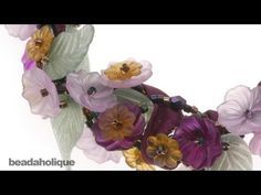 lucite flower jewelry tutorial - Google Search