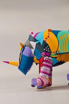 Albrecht D眉rer's Rhinoceros by Rebeka Molnar