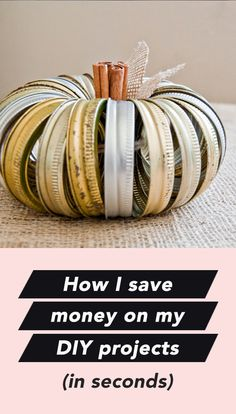 How I save money on my DIY projects