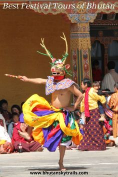 The Festival in Bhutan known as Tshechu features sacred dances which were established by the great masters of Vajrayana Buddhism. The expertise of Bhutan Sky Trails will guide you for best festival performed in the diffrent regions of the country. We will customize your itinerary the way you want it to be. #festival #festivaltours #besttravel #travelagent