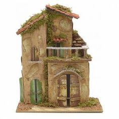 Casolare con balcone cm 21x16 Diorama, Diy Wall Art, Architecture Details, Old Houses, Home Art, Sculpture Art, Egypt, Diy And Crafts, Easy Diy