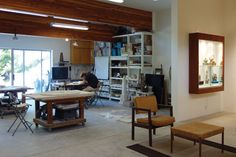 Scott and Naomi Schoenherr show us their studio in Laguna Beach, California. This originally appeared in the October 2013 issue of Ceramics Monthly. http://ceramicartsdaily.org/ceramics-monthly/ceramics-monthly-october-2013/