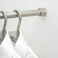 Wandhalterung für oval Kleiderstange  Schranklager