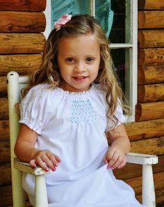 """Honeycomb smocking.  1/2"""" dots in pairs.  3 strands embroidery floss.  1/8"""" stitch length.  Terrific video tute."""