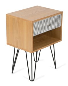 Nordic table for the hall home decorations pinterest lifestyle traders ronja retro 1 drawer bedside table reviews temple webster watchthetrailerfo
