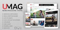 Download UMag WordPress theme from our website which is perfectly designed for magazines, newspapers and blogs. Visit now to know more about its powerful features.