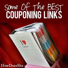Some of the BEST Couponing Links! Pin now...read later!! #couponing List at HowDoesShe.com