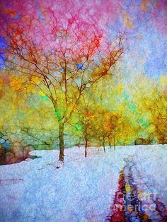 A Painted Winter - Tara Turner