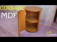 COMO CURVAR MDF DOBLAR (Resumen) - Luis Lovon - YouTube