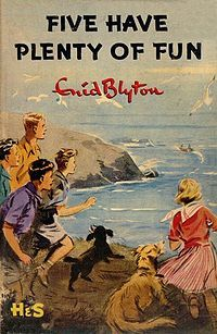 Five Have Plenty of Fun - Enid Blyton.  Enid Blyton enjoyed her holidays in Dorset, particularly Purbeck, and visited three times a year for over 20 years.
