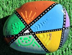 Painted Rock by Xta