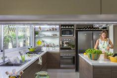 Super relaxing, beautiful modern kitchen. cocina by GUTMAN+LEHRER ARQUITECTAS