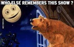 Bear in the Big Blue House! This was one of my favorite shows as a child!