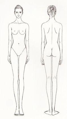 我们可以把人体简化归结为一个由几何体构成的组合。头部可以看作一个椭圆体,颈部是柱体;胸部可以看作一个梯形立方体,臀部也以看作一个梯形立方体; 这两个梯形立方体之间的腰可看作一根弯曲转动的圆柱;四肢可看成能伸屈的圆柱体。 - 堆糖 发现生活_收集美好_分享图片