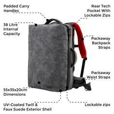 Melbourne Advanced Travel & Flight Backpack