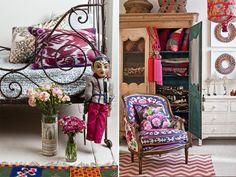 chevron rug love, chair love, armoire love...