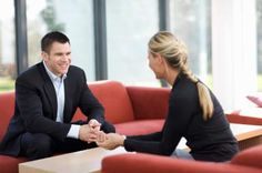 job interview man and woman - Copyright Cultura RM/T2 Images/Cultura/Getty Images