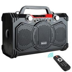 Bluetooth Speaker Portable Wireless Big Power Speakers Soundbox With Remote Control Support Fm Radio Mic Tf Aux Usb Subwoofer Speaker, Bluetooth Speakers, Wireless Headphones, Portable Speakers, Best Powered Speakers, Bass, Party Speakers, Multimedia Speakers, Boombox