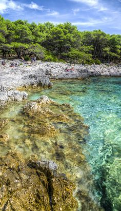 Adriatic at Stipanska Beach, Pakleni Islands, Croatia