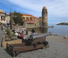 A Cannon For John through the eyes of saxo042; Collioure France