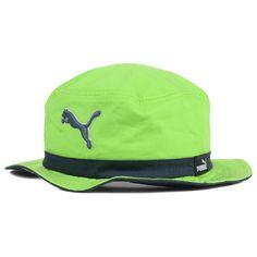 7dd8b432e66  12.99 US   Puma The Varial Bucket Lime Hat Cap Floppy Sun Beach Pool  Fishing Green Fashion.