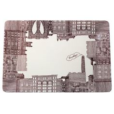 Brooklyn tray from Fishs Eddy - Caroline, remember all the cool things we saw at Fishes Eddy?!