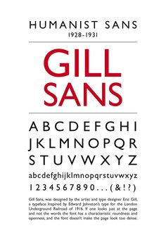 About Gill Sans typeface Poster Fonts, Type Posters, Typographic Poster, Typographic Design, Graphic Design Typography, Graphic Design Illustration, Poster Poster, Typography Love, Typography Inspiration