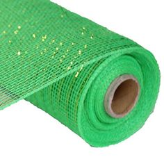 Craig Bachman Deco Poly Mesh Ribbo Lime Green with Lime Green Foil Metallic Synthetic material, fabric like mesh netting x 10 yd Great for your holiday decorating, bow or wreath Mesh Ribbon Wreaths, Mesh Bows, Deco Mesh Ribbon, Christmas Mesh Wreaths, Deco Mesh Wreaths, Mesh Wreath Tutorial, Diy Wreath, Tulle Wreath, Burlap Wreath