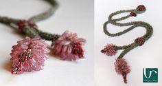 Beaded Crochet Jewelry by Varga Reka  www.vargareka.com