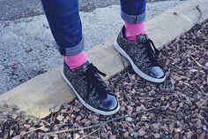 Las 6 mejores marcas de calcetines made in Spain - Sneakers&Breakfast. Pink socks - calcetines rosas - Lemonade Attack