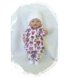 Aud,s dukkeklær til dukke 40-43 cm TILBUD DENNE uken kr 69 ordinær kr 89.- Onesies, Aud, Clothes, Fashion, Outfits, Moda, Clothing, Fashion Styles, Kleding