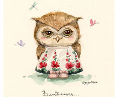 Little owlet by Inga Paltser from Russia.