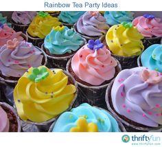 Church Rainbow Tea Dinner