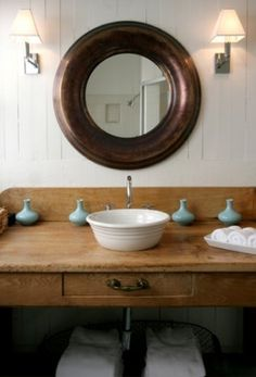 Beach house bathroom - designed by Windsor Smith