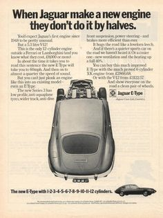 Jaguar Type, Jaguar Xk, British Car, Mg Cars, Car Brochure, E Type, New Engine, Brochures, Vans