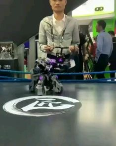 the robot. Control the robot. Control the robot. Futuristic Technology, Cool Technology, Technology Gadgets, Tech Gadgets, Cool Gadgets, Robot Factory, Real Robots, Diy Robot, Tech Toys