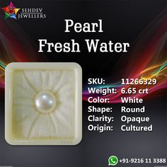 Natural quality Pearl 11+ Ratti and 6.65 Carat. The shape of the Pearl stone is Round and the weight of Pearl in mg is 1330 with the excellent clarity. Beautiful Pearl stone width is 10.67mm and the depth 7.78mm.  Buy natural quality unheated and untreated Pearl gemstone online at a reasonable price from sehdevjewellers.com. You can check more details about the stone from the website sehdevjewellers.com by using given GIN: 11266329 number.