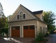 We plan to build a new garage with a small income apartment above.