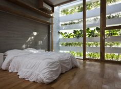 vertical garden window