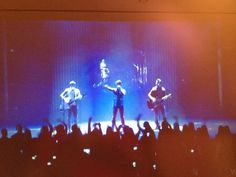 Me watching the Jonas Brothers concert live last year (Nov of 2012) in NYC on my moms lap top. Lmao not the most amazing pic but I thought it might be fun to share XD. Taken from my iPhone.