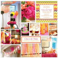 Cinco de MAIA {mayo} 1st Birthday Party - Kara's Party Ideas - The Place for All Things Party