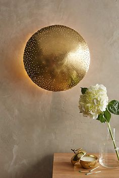 Tincelle Dot Wall Sconce - anthropologie.com