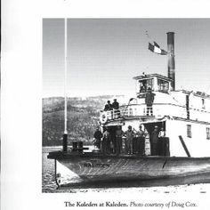 The SS Kaleden at Kaleden (Okanagan Lake) BC. Okanagan history. Fifty-sixth report of the Okanagan Historical Society :: Okanagan Historical Society Reports