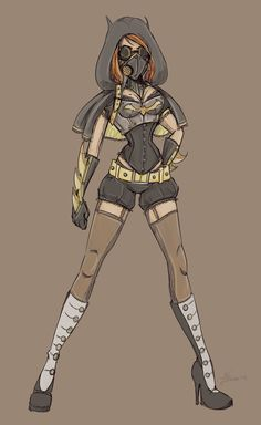 Alternate Batgirl Sketch by NoFlutter on deviantART, gorgeous concept, a bit too short though